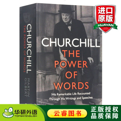 丘吉尔 语言的力量 英文原版人物传记 Churchill The Power of Words 英国前首相丘吉尔 马