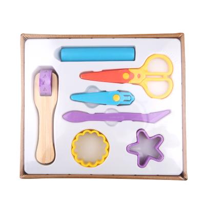 Joan Miro 美樂童年 橡皮泥無毒彩泥兒童模具工具套裝粘土女孩玩具diy制作手工泥 彩泥工具套裝