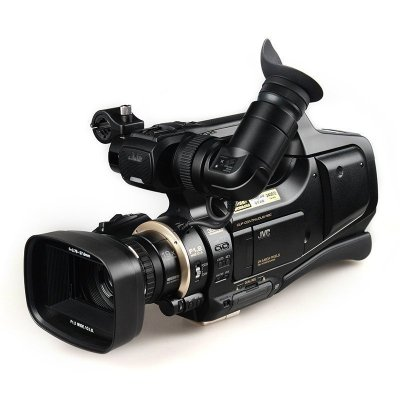 杰伟世(JVC) JY-HM95AC 高清闪存摄杰像机 活动会议套餐 黑色