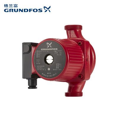 【原装进口】丹麦格兰富地暖循环泵UPBasic 25-8 壁挂炉空气源热泵地暖锅炉循环泵24kw以上静音