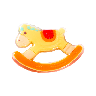 寶倍安(Bao bei an)嬰兒液態硅膠牙膠/安撫奶嘴磨牙棒咬咬樂無毒 12-18月 卡通木馬YBZ008