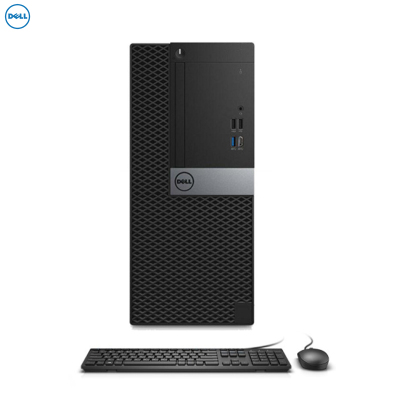 戴尔(DELL)Optiplex7070MT 台式电脑 单主机(i7-9700 4GB 1T 刻录 2G独显 W10H)