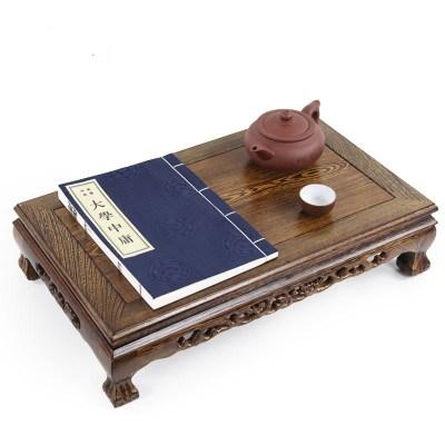 红木家具鸡翅木实木炕几长方形小炕桌飘窗桌子矮桌茶几榻榻米地台弧威