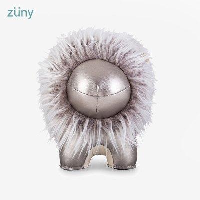 臺灣Zuny 飛獅Vivi 鉻色 書檔 手工