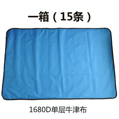 帮客材配 垫布 蓝色 双层牛津布 防水设计 双层牛津布1箱15条