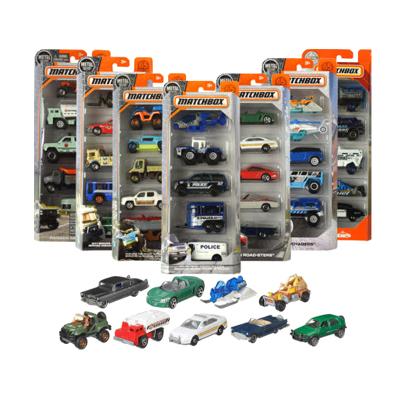 火柴盒英雄城市五輛車兒童玩具 C1817
