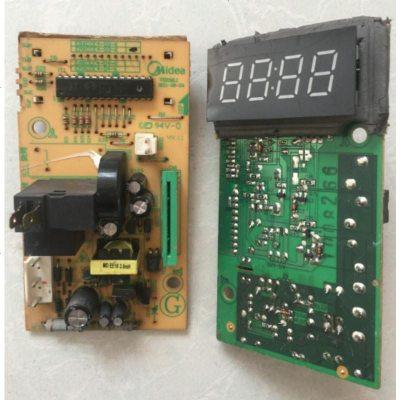 定做 拆機美的主板微波爐EM823LE3-NS EM720FF2-NG1電腦板EMXCCE4-03-