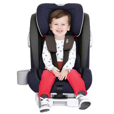 英國Joie巧兒宜汽車兒童安全座椅ISOFIX/LATCH雙接口 9個月-12歲蓋世戰神C1504A 英國藍
