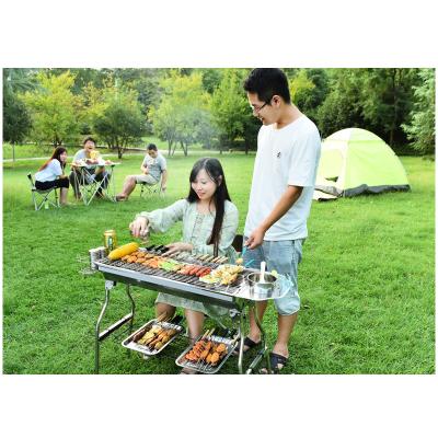 燒烤爐家用木炭戶外燒烤架室內碳烤肉爐子野外不銹鋼無煙烤串烤架