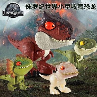 侏罗纪世界小型收藏恐龙 JW COLLECTIBLES AST 仿真开口设计 放心材质做工精细 GGN26