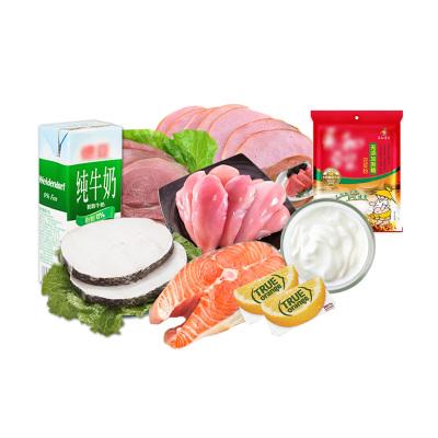 漁鼎鮮 哥本哈根復食食譜食材套餐低脂火腿雞胸肉奶酪鱈魚三文魚順豐全國海鮮水產