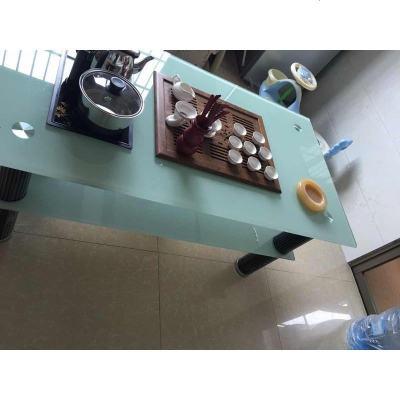 高强度客厅钢化玻璃功夫茶几现代简约小户型办公室自动上水泡茶桌