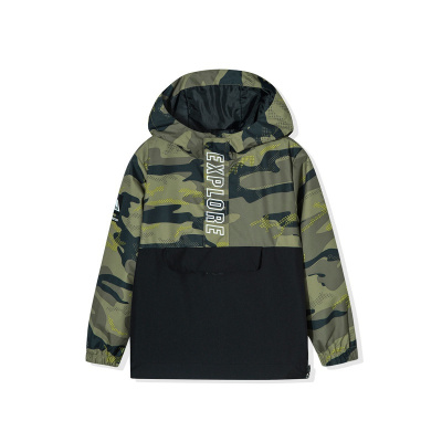 361°兒童男中大童梭織上衣秋季款開衫外套