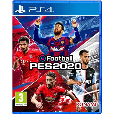 索尼(SONY)【PS4slim/Pro正版游戏软件】游戏光盘 实况足球2020 PES WE 2020 中文