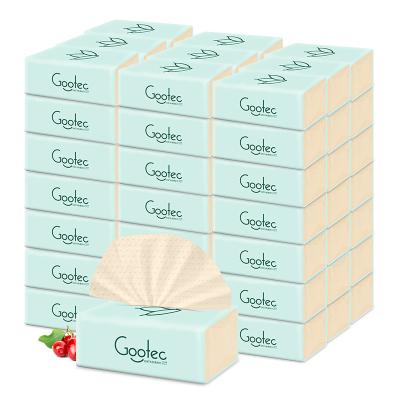 谷斑嬰兒本色柔紙巾20包裝3層綿柔加厚款1抽頂2抽3D浮點打磨