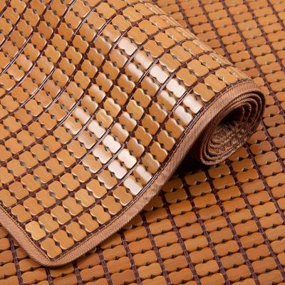 爱天妙席夏季凉席沙发垫麻将坐垫麻将凉席竹席沙发垫客厅夏季坐垫夏天凉垫实木竹垫席欧式冰丝防滑布艺沙发垫定做