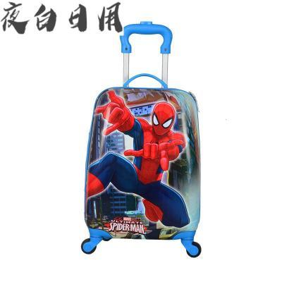 定制儿童拉杆箱宝宝儿童户外旅行箱男孩女孩万向轮卡通儿童行李箱
