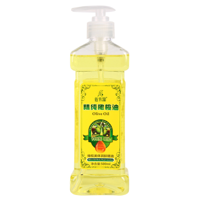 橄榄油护肤护发全身按摩精油身体推背通经络面部美容院刮痧推油卸妆正品