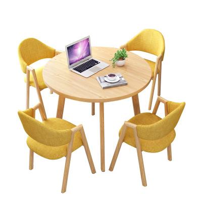 鑫金虎 办公家具简约现代接待桌椅组合洽谈桌店铺会客桌椅办公室休闲洽谈桌