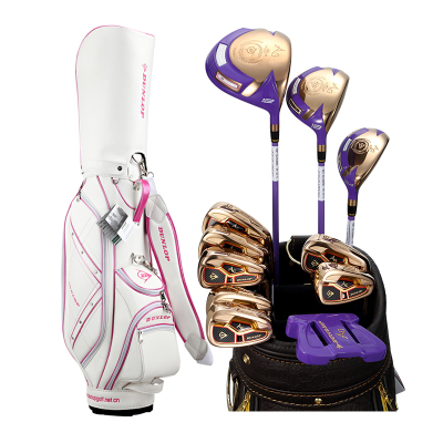 登路普(DUNLOP) 高尔夫球杆 女士全套杆 钛合金球头 碳素杆 AG女士系列