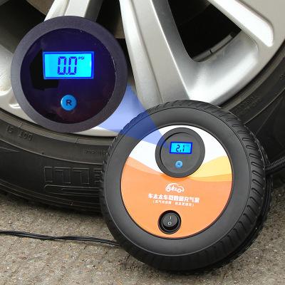靜航(Static route)12v便攜式汽車打氣泵應急輪胎數顯車載充氣泵智能預設測胎壓干電池帶胎測功能其他