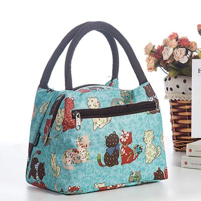 手提包女大號防水加厚布包女士便當包飯盒袋手提袋小布包包媽咪包