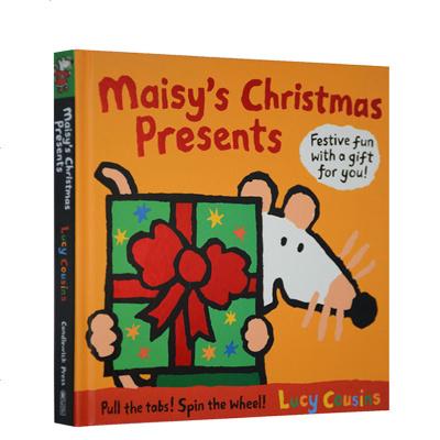 英文原版 Maisy's Christmas Presents小鼠波波的圣誕禮物 翻翻書