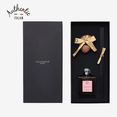 LOCHERBER MILANO 洛赫本 竹簽香薰禮盒裝 瑪德琳薔薇250ml
