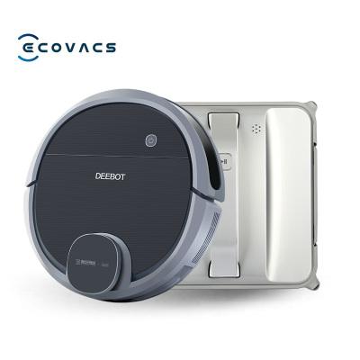 科沃斯(Ecovacs ) 掃地機器人套裝 DN55+W83S 全自動智能 規劃清掃 視覺導航 掃拖一體 APP智控