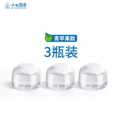 SEVEN BUBBLE/小七泡泡儿童成人厨房卫浴洗洗手液-青苹果3瓶装组合