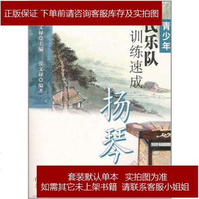 青少年民乐队训练速成·扬琴 张文禄 编 上海音乐 9787807517375