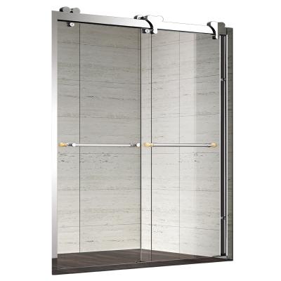 淋浴房 煦晨 簡易淋浴房 移門式隔斷 304不銹鋼 定制淋浴房 沐浴房整體 淋浴房移門 不含蒸汽