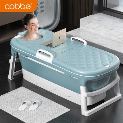 卡貝(cobbe)可折疊浴桶泡澡桶大人家用大號沐浴桶成人浴盆浴缸洗澡桶