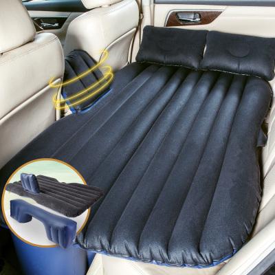 沿途(YANTU)車載充氣床 F26黑色 汽車后排旅行床 SUV自駕游裝備 分體式車震床氣墊床