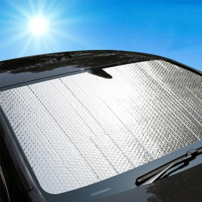 GREAT LIFE汽車遮陽擋 車載遮陽擋 汽車載窗簾 內置前擋風玻璃防曬隔熱玻璃罩2個裝