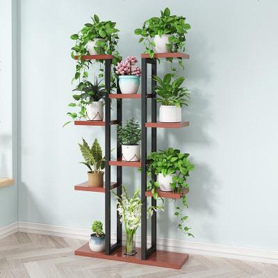 綠蘿花架子家用多層室內省空間鐵藝花架多層客廳陽臺花盆架子