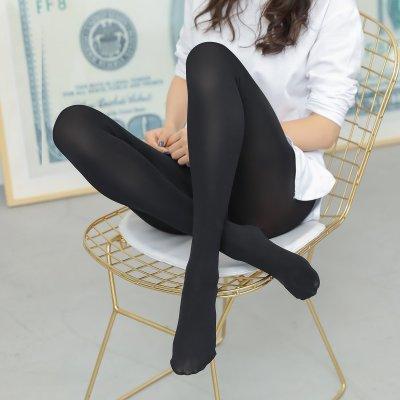 浪莎 2條裝 80D打底褲襪 天鵝絨女絲襪連褲襪防勾絲顯瘦女襪子