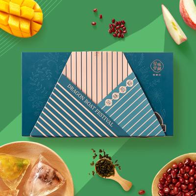 徐福記呈味空間水晶粽子袋裝豆沙蜜桃水晶甜粽真空薈粽端午棕480g
