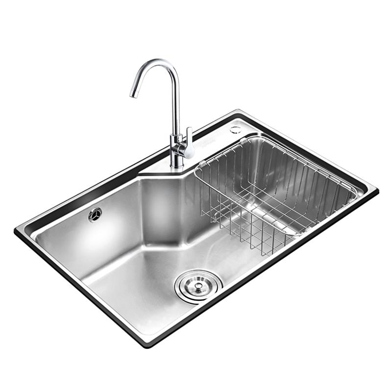 JOMOO брэндийн зэвэрдэггүй ган гал тогооны угаалтуур 02113-00-Z