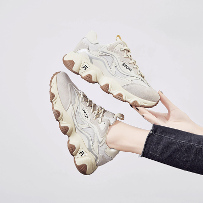 希度爆老爹鞋女ins潮2020春季新款小白运动鞋女跑步鞋ins百搭潮鞋春季