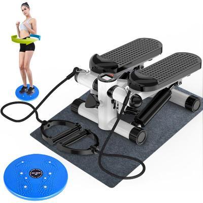 好貨腰椎踏步機 瘦腿女家用靜音機健身器材小型原地運動登山腳踏機