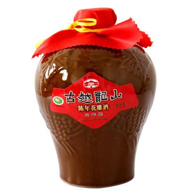 古越龍山 紹興黃酒 花雕酒糯米 三年陳 陳年花雕酒 1L