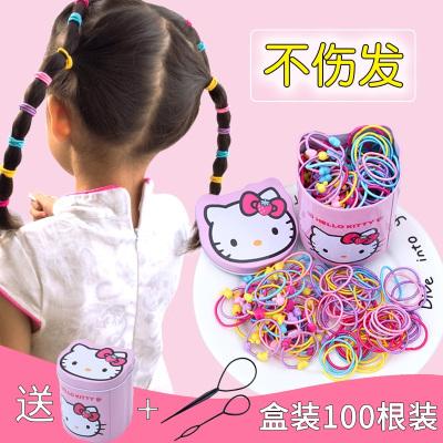 兒童扎頭橡皮筋圈頭繩不傷公主寶寶飾小女孩繩卡通頭飾