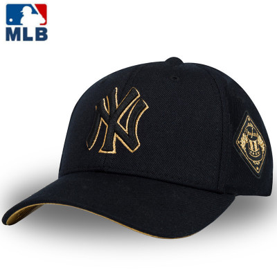 MLB2020新款正品棒球帽男女夏季通用遮陽帽NY嘻哈帽洋基隊防曬旅游休閑鴨舌帽子