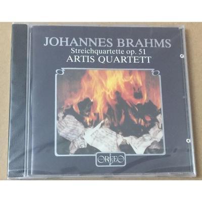 C211911A 勃拉姆斯:弦樂四重奏 Artis CD 劉漢盛榜單040 預訂