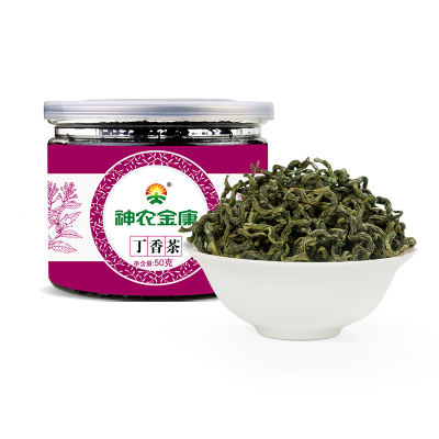 神農金康丁香茶葉長白山野生調理養正品胃茶非特級九珍茶腸胃50g