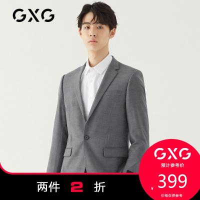 【兩件2折:399】秋季男款商務時尚修身西裝(上裝)