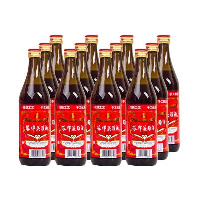 塔牌陳年花雕酒 15度 500ml*12瓶 箱裝 半干型 手工釀造黃酒
