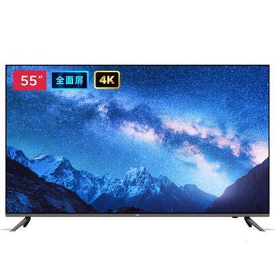小米全面屏電視55英寸 E55A超高清4k網絡智能液晶電視機彩電--官方標配
