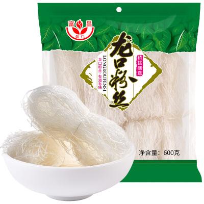 富昌龙口粉丝产地火锅凉拌方便干货扇贝蒜蓉米粉米线600g